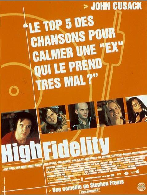 Affiche Poster high fidelity disney touchstone