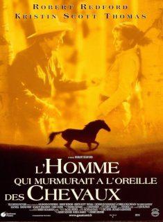 Affiche Poster homme murmurait oreilles chevaux horse whisperer disney touchstone