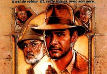 affiche indiana jones derniere croisade film lucas film disney