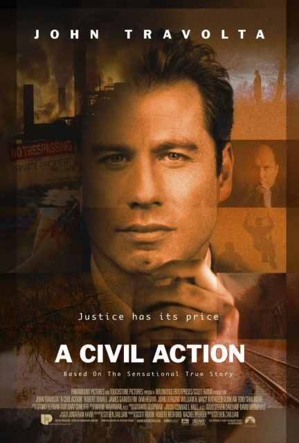 Affiche Poster préjudice civil action disney touchstone
