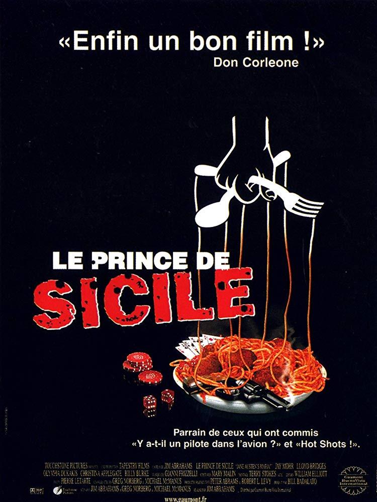 Affiche Poster prince sicile mafia jane austen disney touchstone