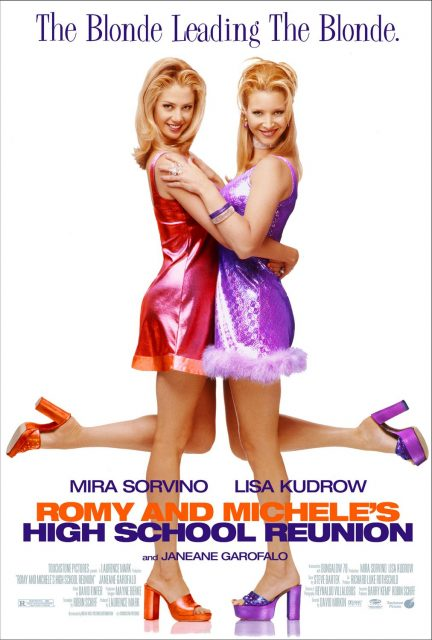 Affiche Poster romy michelle 10 ans après High School Reunion disney touchstone