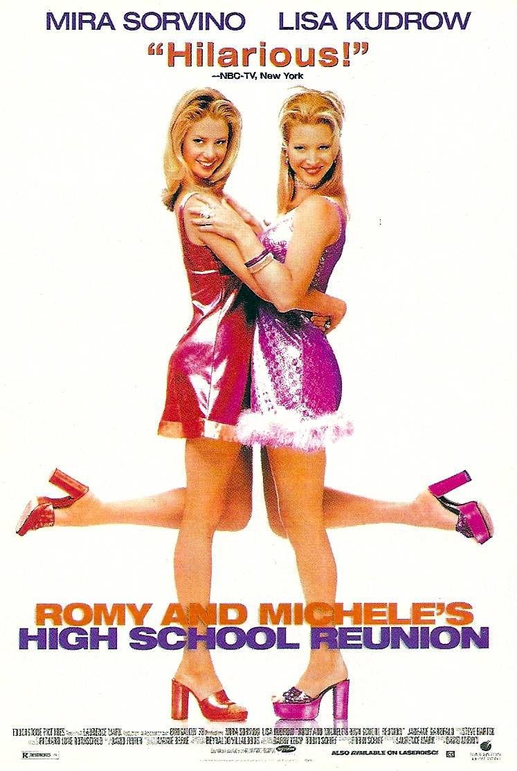 Affiche Poster romy michelle 10 ans après High School Reunion disney touchstone