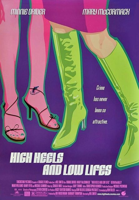 Affiche Poster rouge levres arme feu High Heels Low Lifes disney touchstone