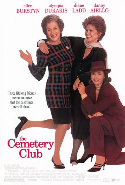 Affiche Poster veuves joyeuses cemetery club disney touchstone