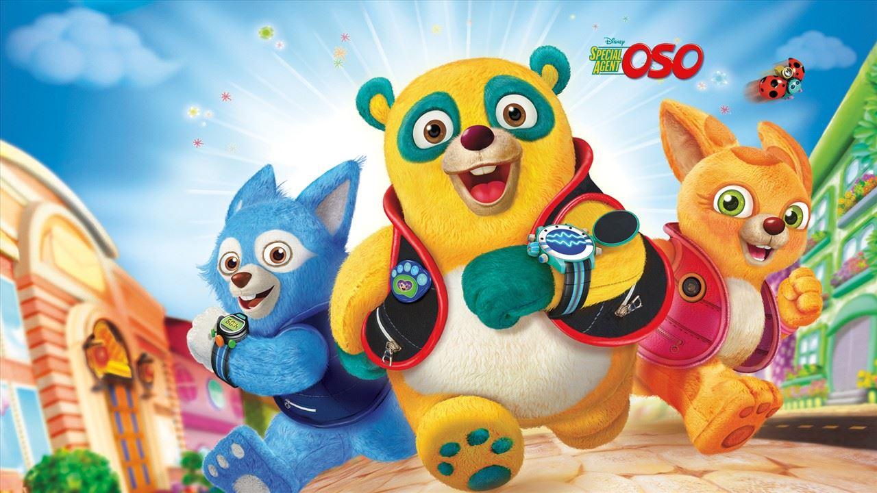 agent spécial oso Disney Junior Série