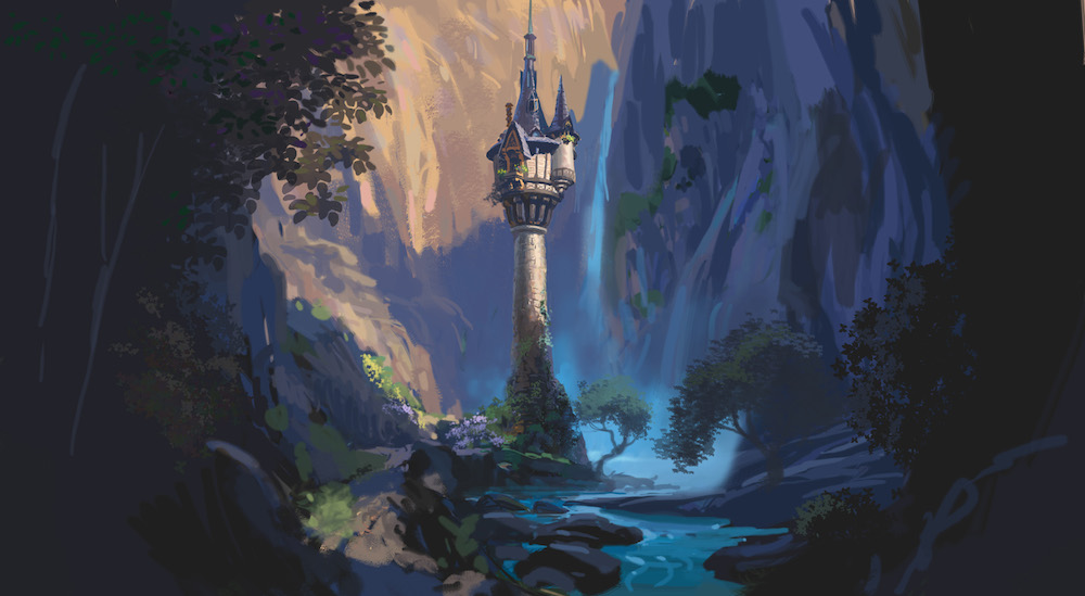 artwork raiponce tangled rapunzel concept art Disney  Animation