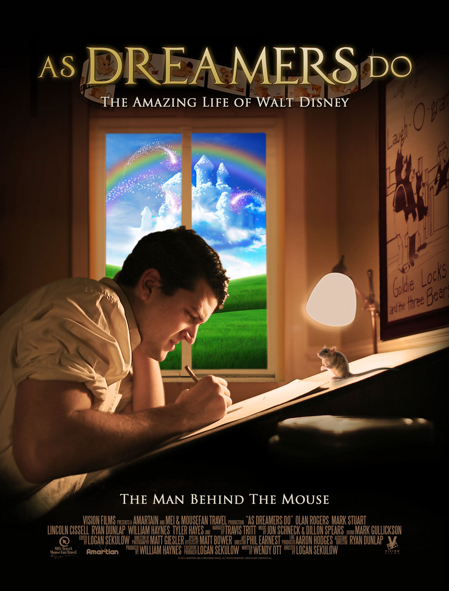 as dreamers do affiche poster amazing life walt disney