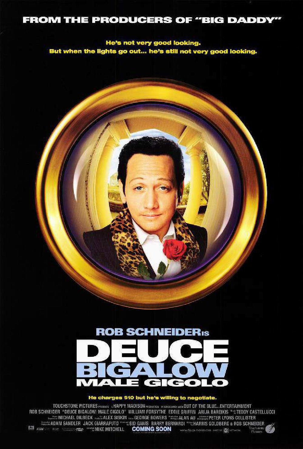 deuce bigalow gigolo à tout prix Disney touchstone affiche poster