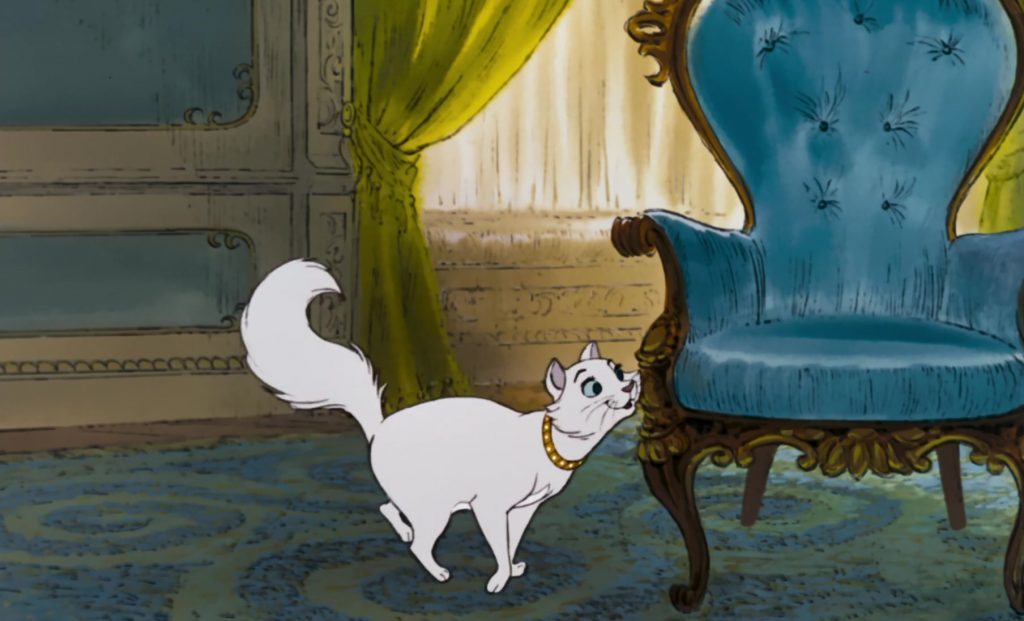 duchesse chat cat personnage character aristochats aristocats disney animation
