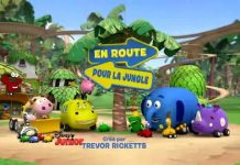 en route pour la jungle junction Disney Junior Série
