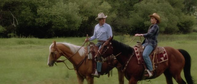 Image homme murmurait oreilles chevaux horse whisperer disney touchstone