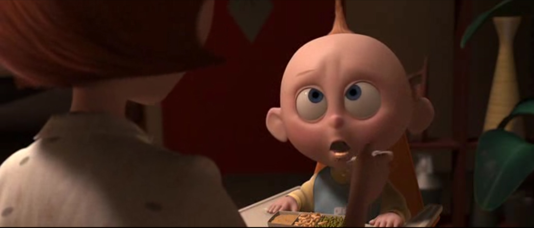 jack-jack parr indestructibles Pixar Disney