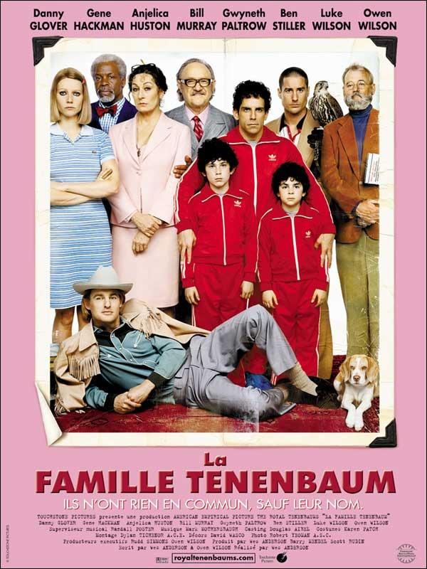 Disney, la famille Tenenbaum, touchstone pictures, affiche, poster