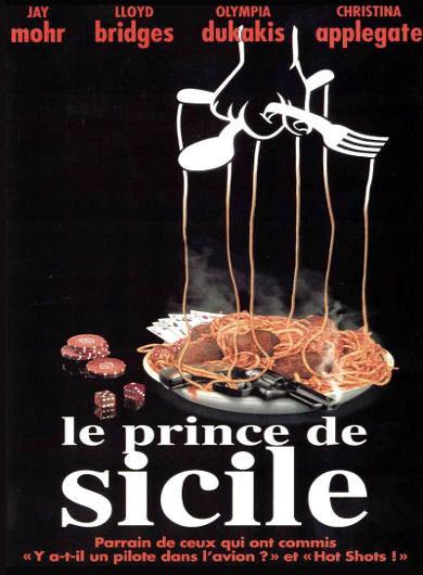 le prince de sicile mafia disney touchstone affiche poster