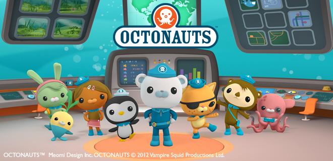 les octonauts série disney junior