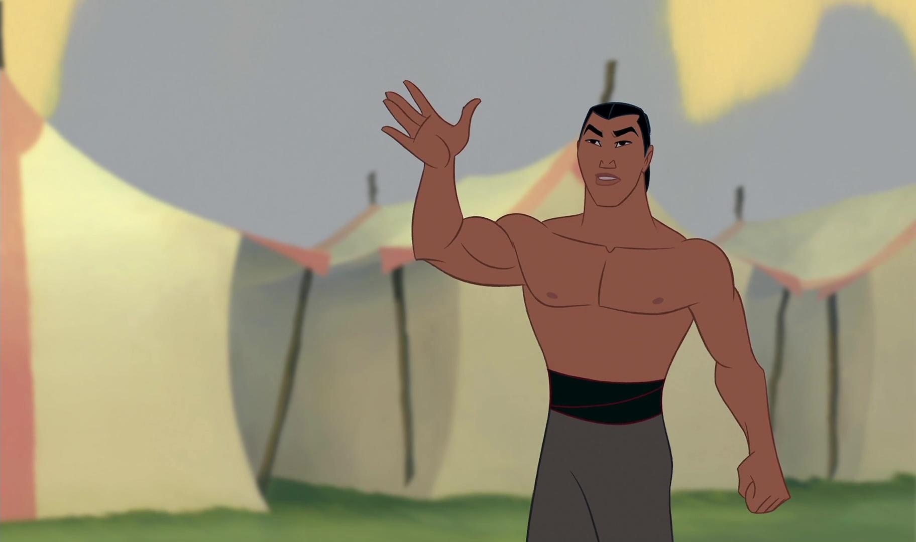 Uncategorized Captain Li Shang li shang personnage dans disney planet son histoire shang