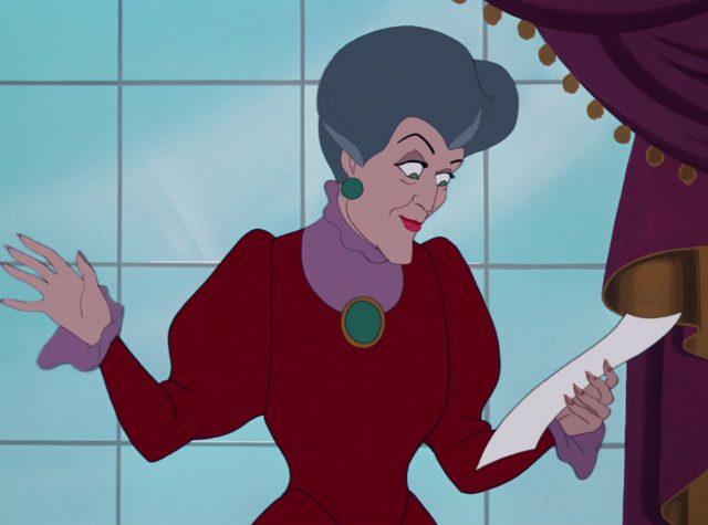 madame trémaine lady disney personnage character cendrillon cinderella