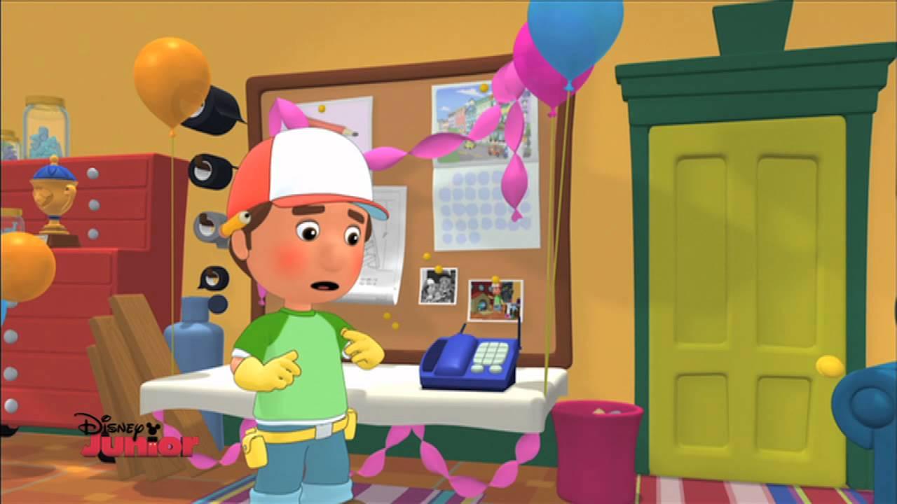 manny et ses outils Disney Junior Handy