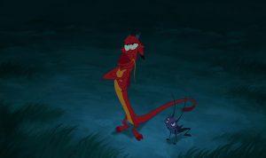 mushu disney personnage character mulan