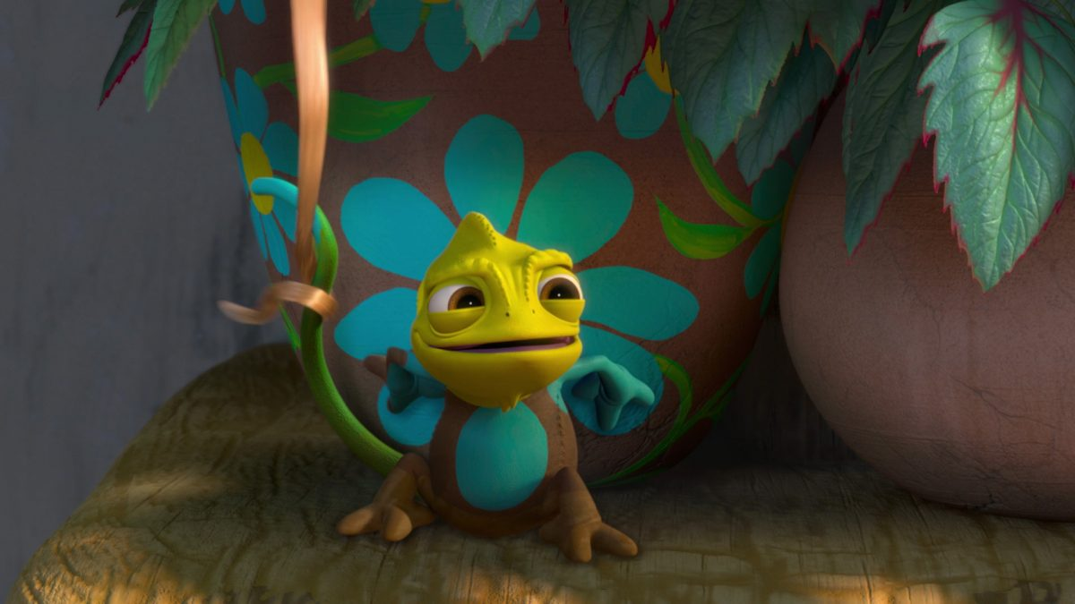 Pascal Personnage Raiponce Disney Character Tangled