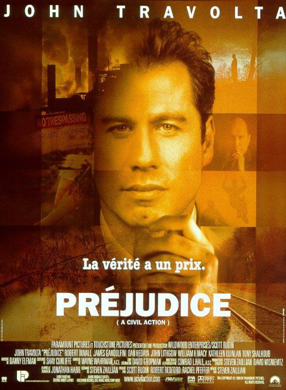 prejudice Disney touchstone affiche poster a civil action