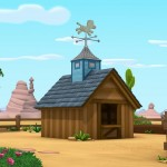 shérif callie au far west Disney Junior