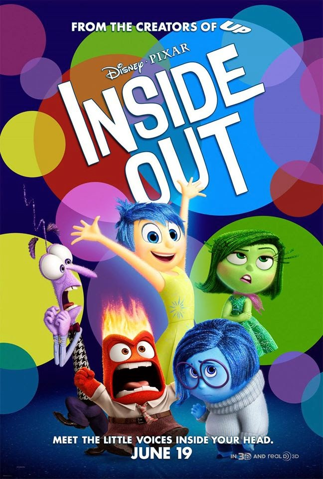 Vice-Versa affiche disney pixar poster inside out