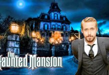 illustration Actu Ryan Gosling Haunted Mansion Disney
