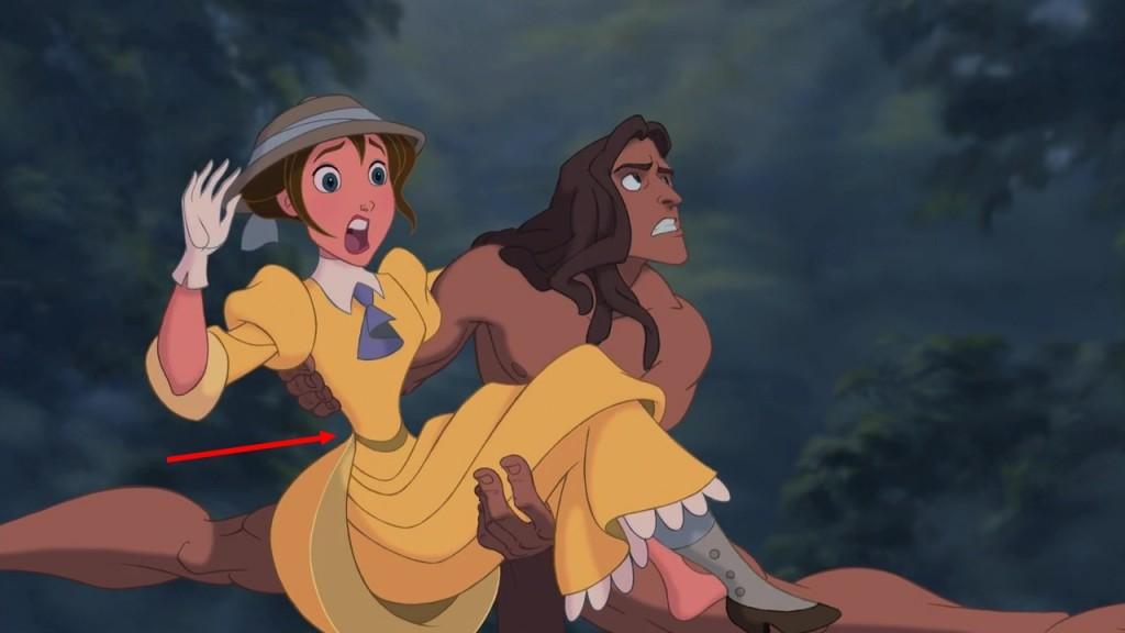 Illustration Disney Faux raccords Tarzan
