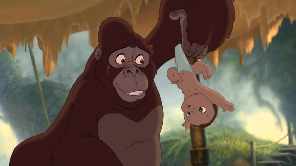 Illustration Disney Faux raccords Tarzan