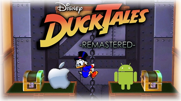 Illustration Actu Ducktales Remastered Ios Android Disney