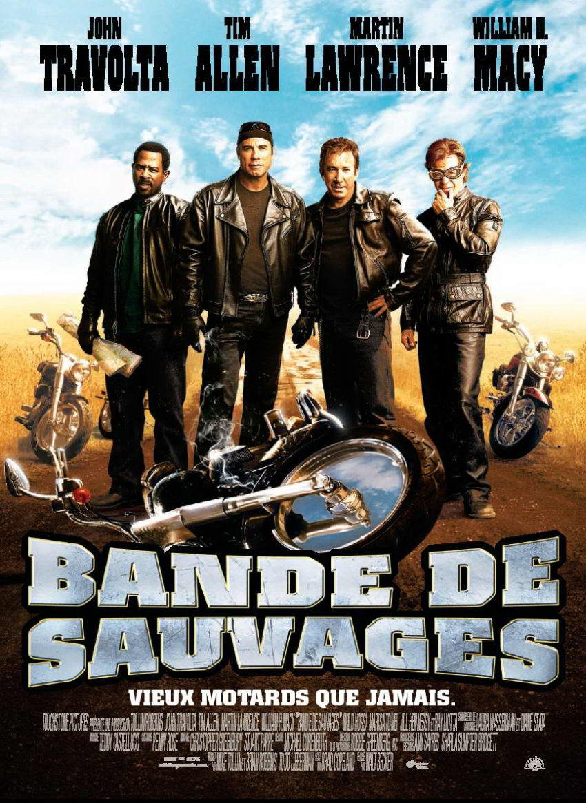 Affiche Poster bande sauvage wild hogs disney touchstone