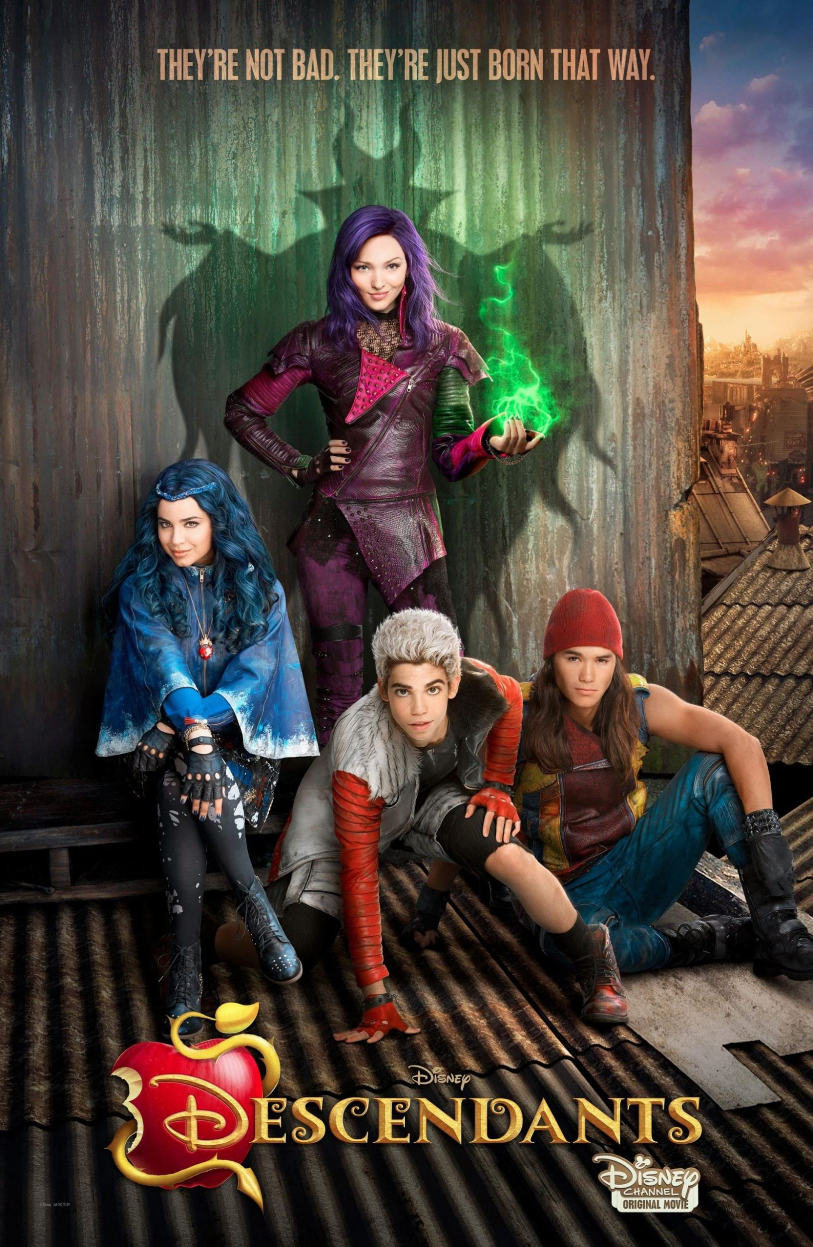 affiche poster descendants disney channel