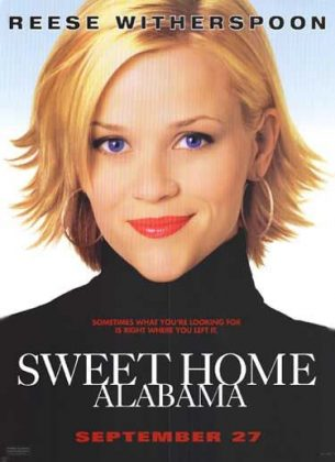 Affiche Poster Fashion victime Sweet home Alabama disney touchstone