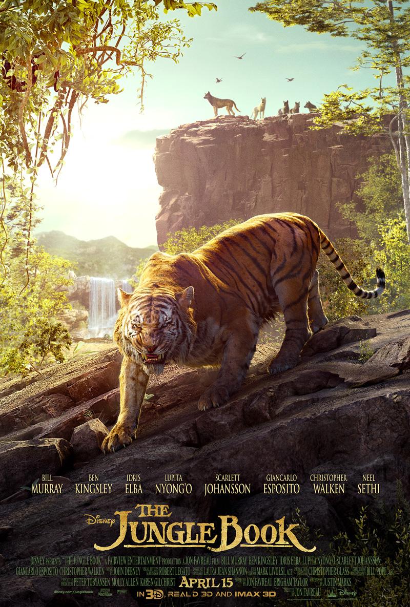 Le livre de la jungle film 2016 disney planet for Le livre de