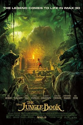Affiche Poster livre jungle book film disney