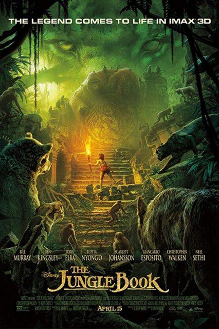 Affiche Poster livre jungle book film disney