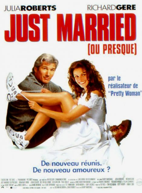 Affiche poster just married presque runaway bride disney touchstone
