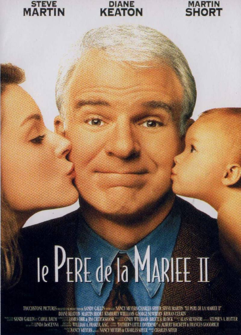 affiche pere mariee 2 film touchstone pictures