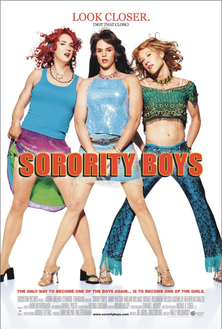 Affiche Poster sorority boys disney touchstone