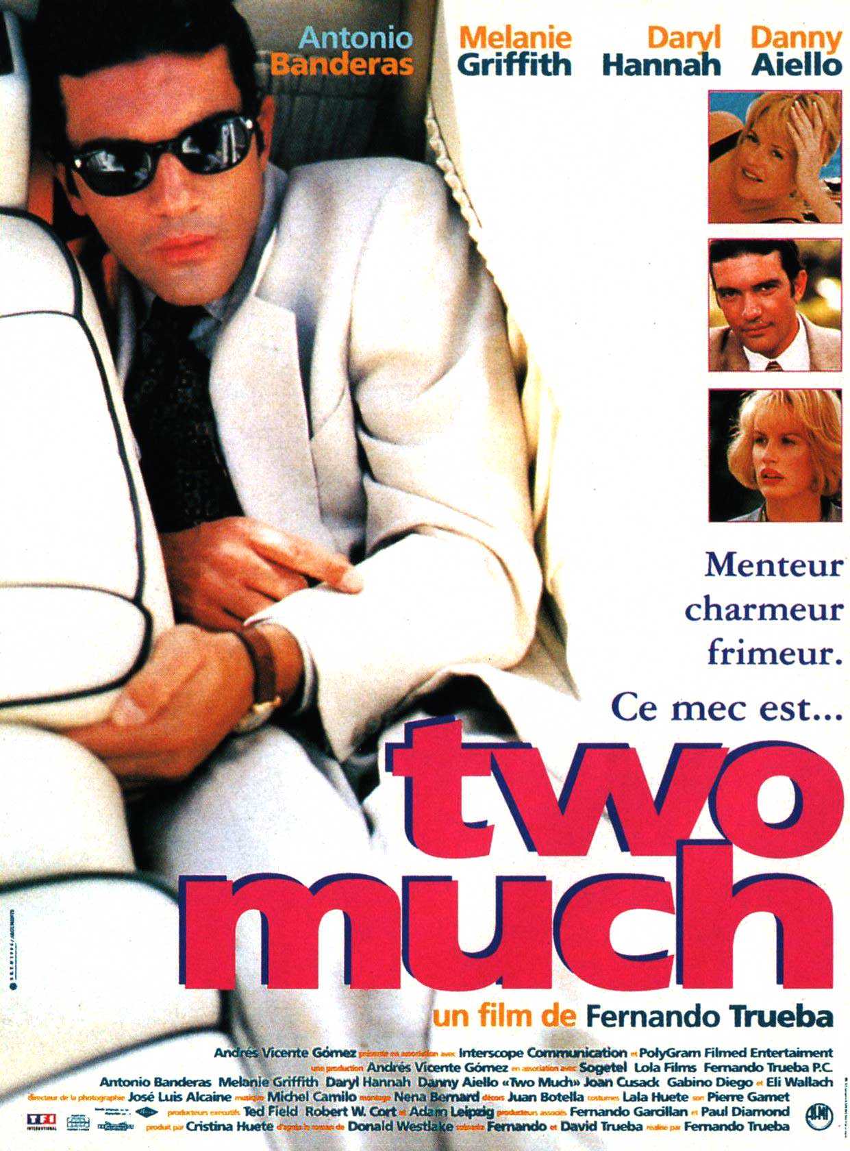 Affiche Poster two much disney touchstone