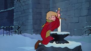 arthur moustique wart disney animation merlin enchanteur sword stone personnage character