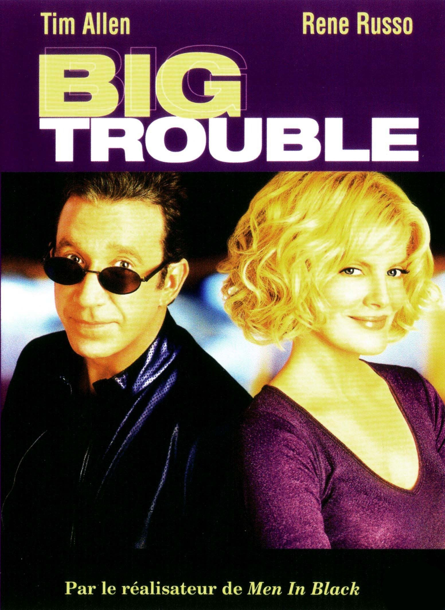 big trouble affiche disney poster touchstone