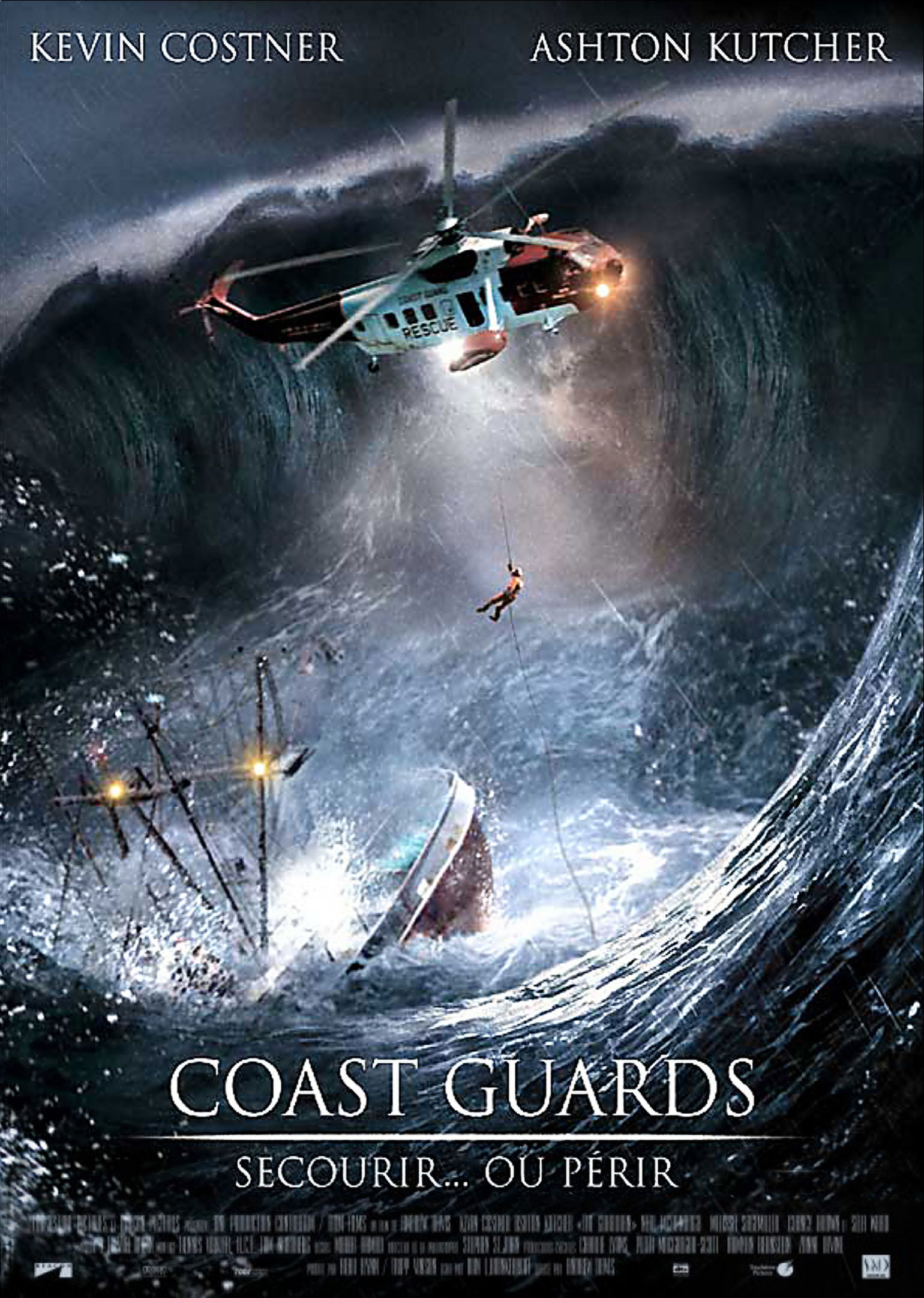 coast guards affiche disney poster touchstone