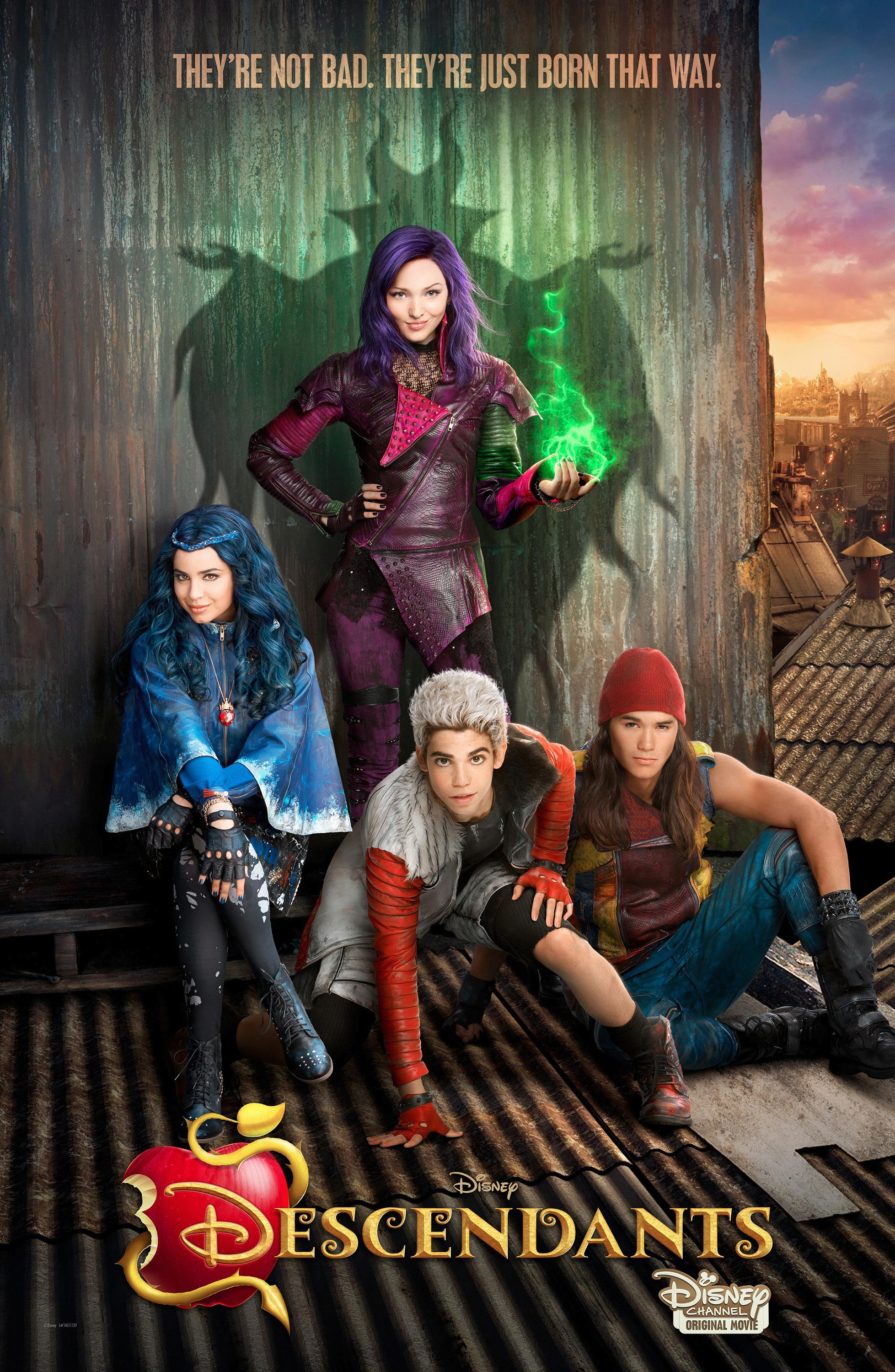 descendants affiche poster disney channel