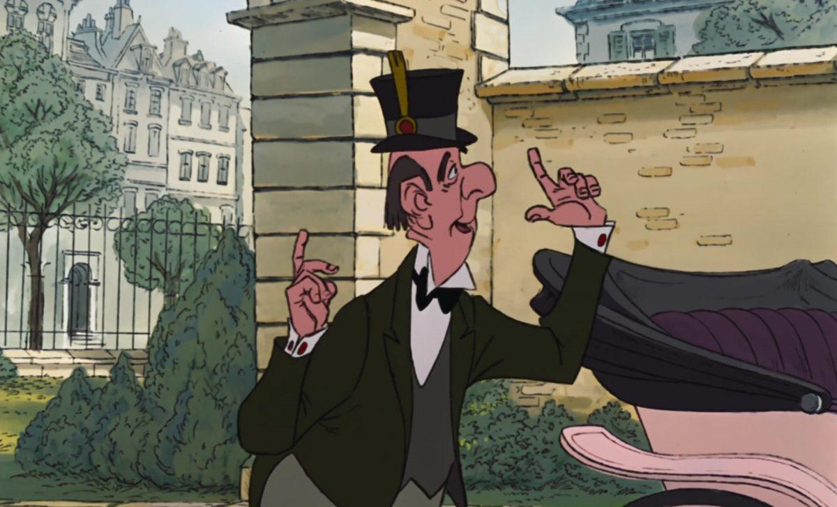 edgar personnage character aristochats aristocats disney animation
