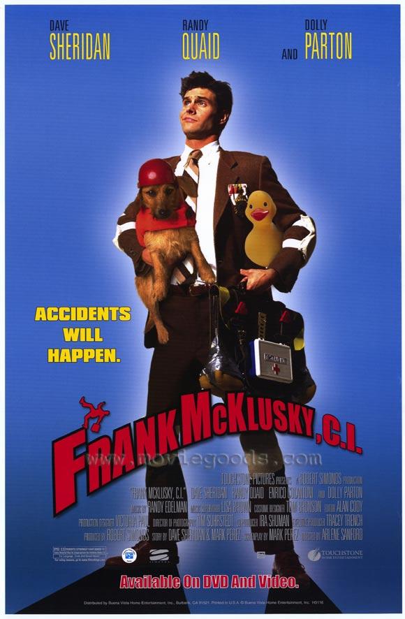 frank mcklusky ci  affiche disney poster touchstone