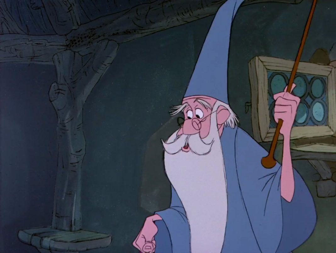 image merlin personnage-merlin enchanteur disney film