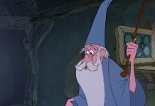 image merlin personnage-merlin enchanteur disney film